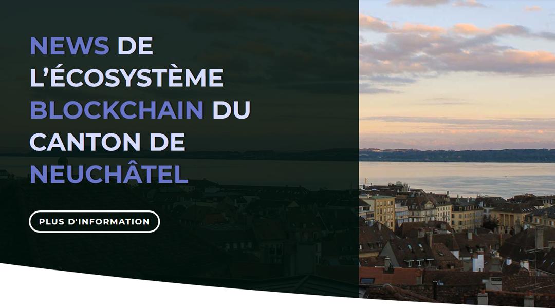 New Blockchain Neuchâtel website