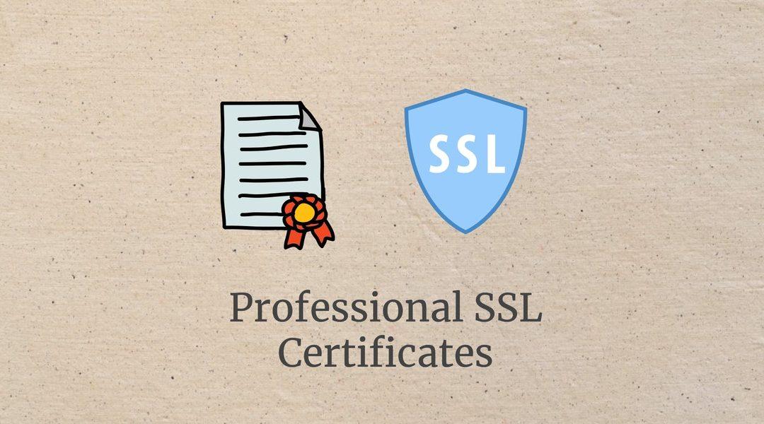 SSL Professional Certificates